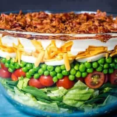Sieben Schichten Salat