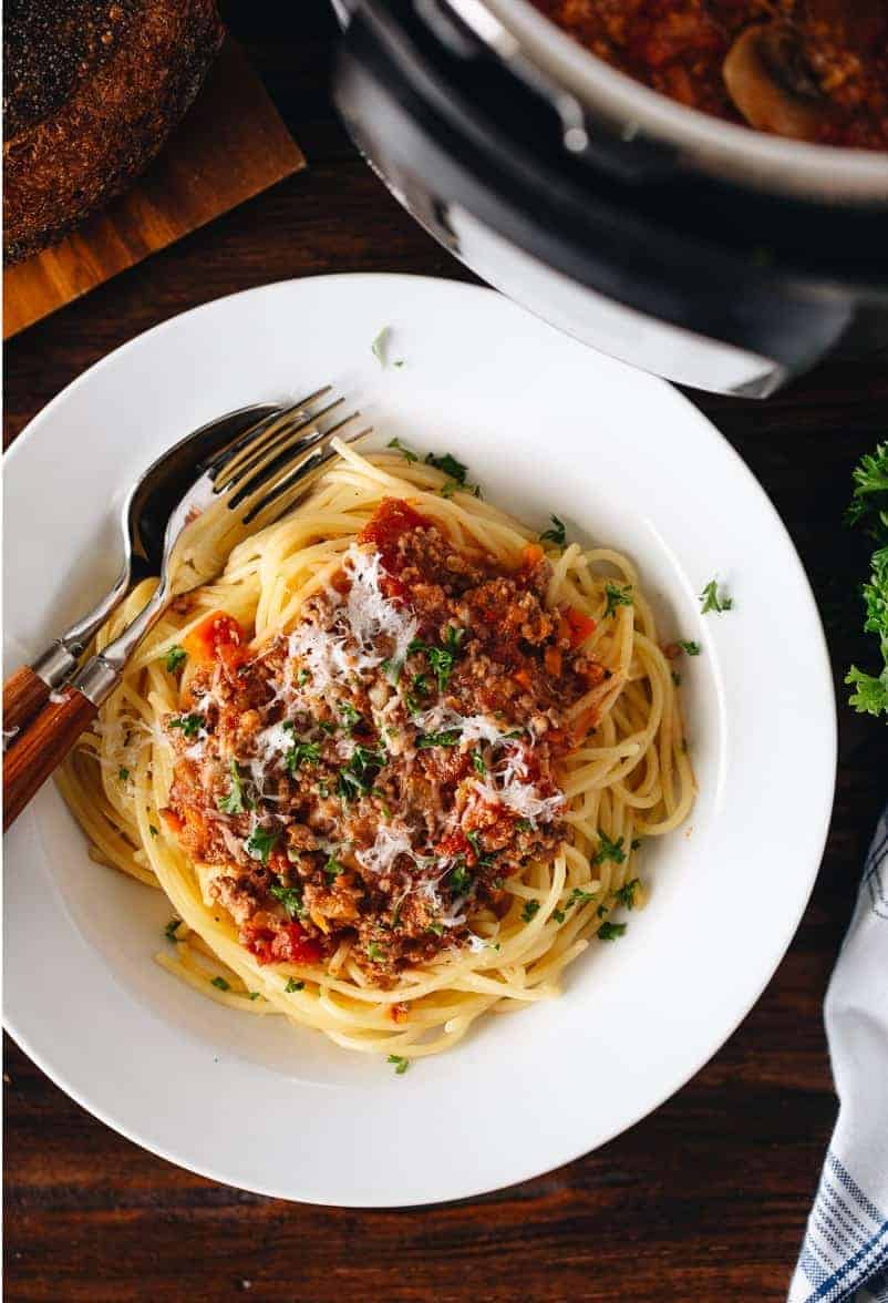 Spaghetti Bolognese – zeitsparend kochen