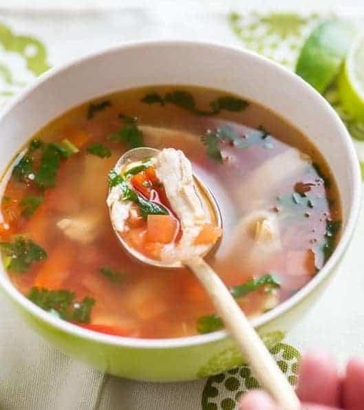 Thai Suppe ohne Kokosmilch: perfekt in 20 Min