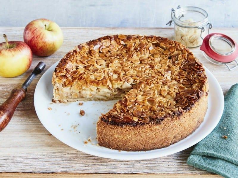 Apfelkuchen mit Rahmguss – herrliches französisches Rezept