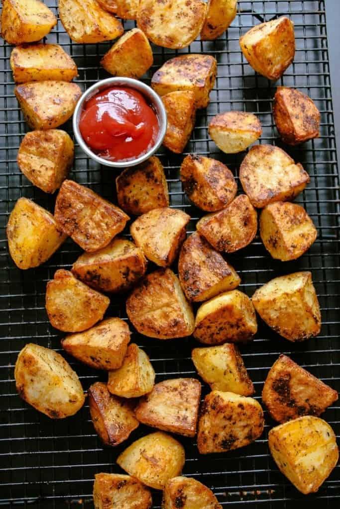 Ofenkartoffeln: exzellent gewürzt & knusprig