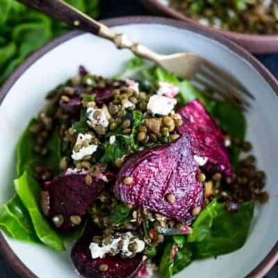 französischer Rote Beete Salat Rezept