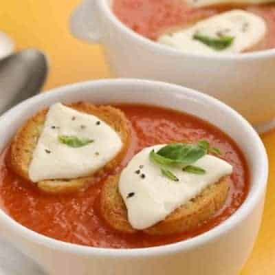 italienische Tomatensuppe