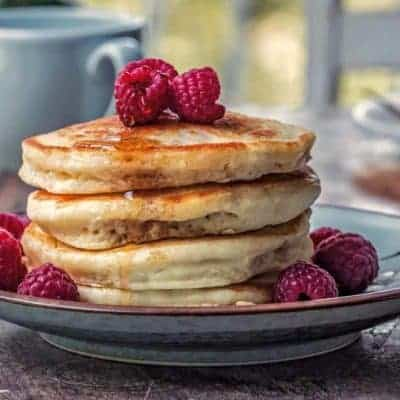 vegane Pancakes schnelles Rezept