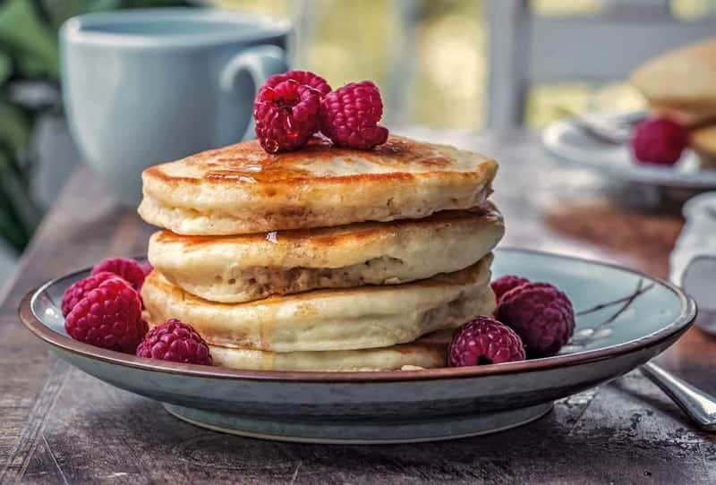 Pancakes vegan – einfaches Rezept ohne Milch und Eier