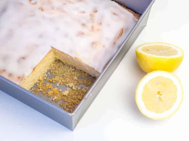 Zitronenkuchen: veganes Rezept ohne Eier, Milch und Butter