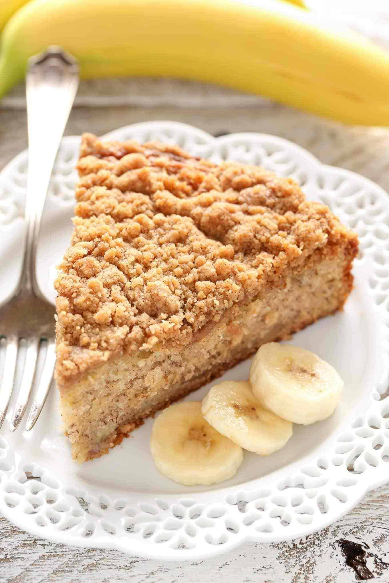 Bananen-Streuselkuchen