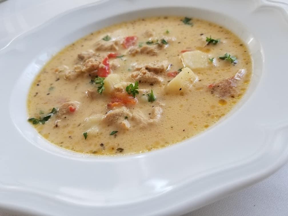 Gyrossuppe, eine tolle Suppe nach griechischer Art
