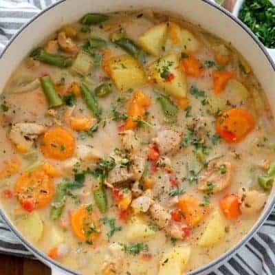 Hühnereintopf mit Gemüse