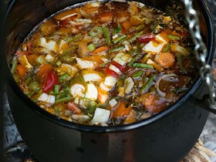 Kesselsuppe mit Gemüse – fabelhaft!