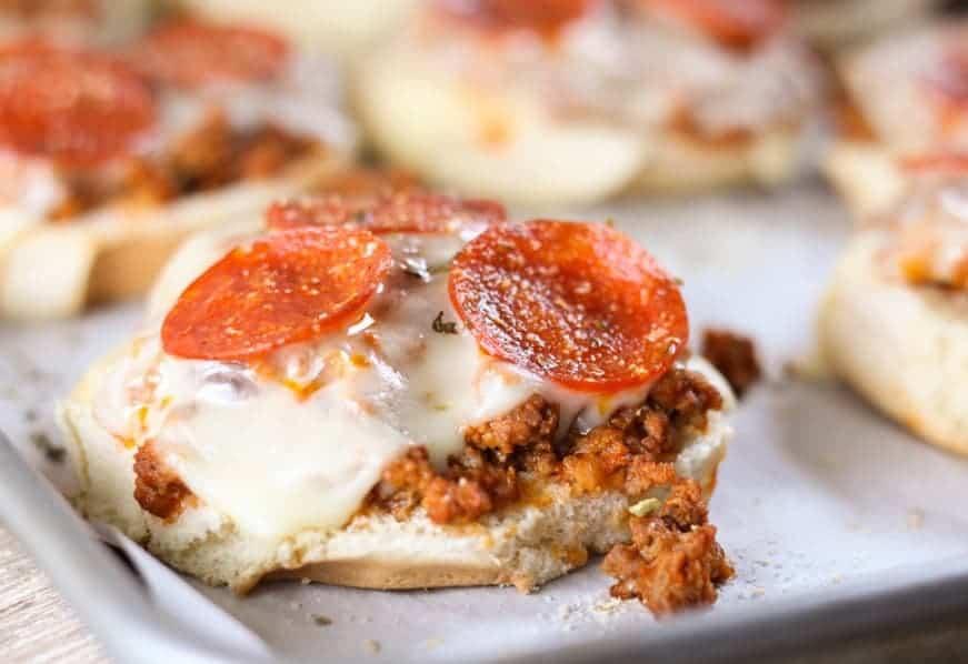Pizza Burger, eine gelungene Erfindung, die mehr als 1000 Wörter sagt