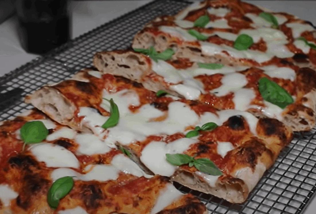 Pizza alla Romana – mit dickem Boden