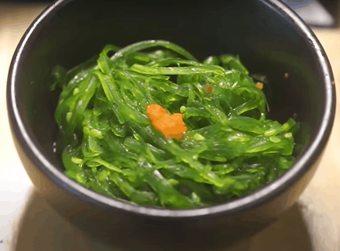 Wakame Salat – grün und schmackhaft