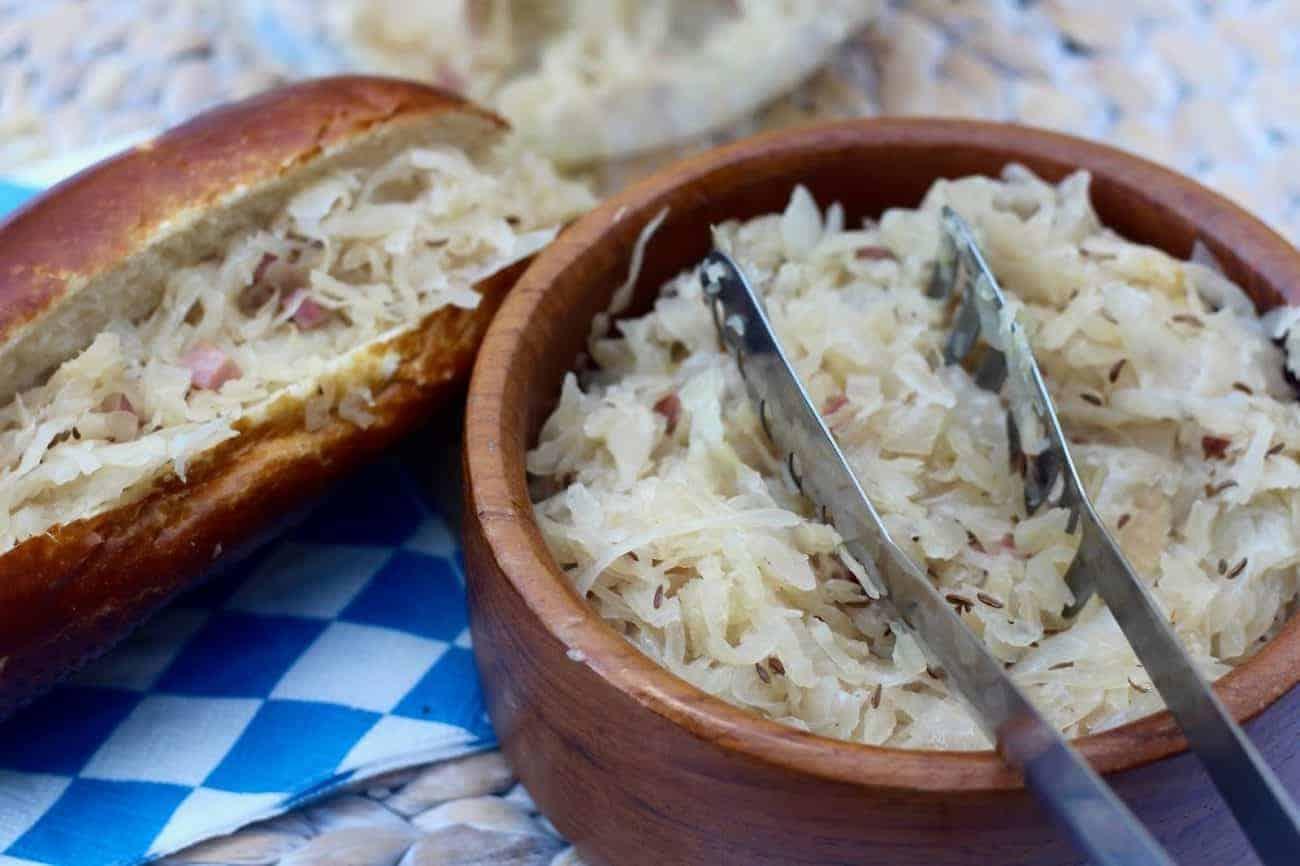 Sauerkraut – bayerisches Rezept – einfach genial