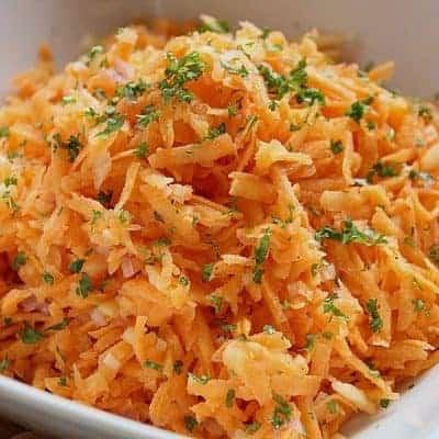 Karottensalat selber zubereiten