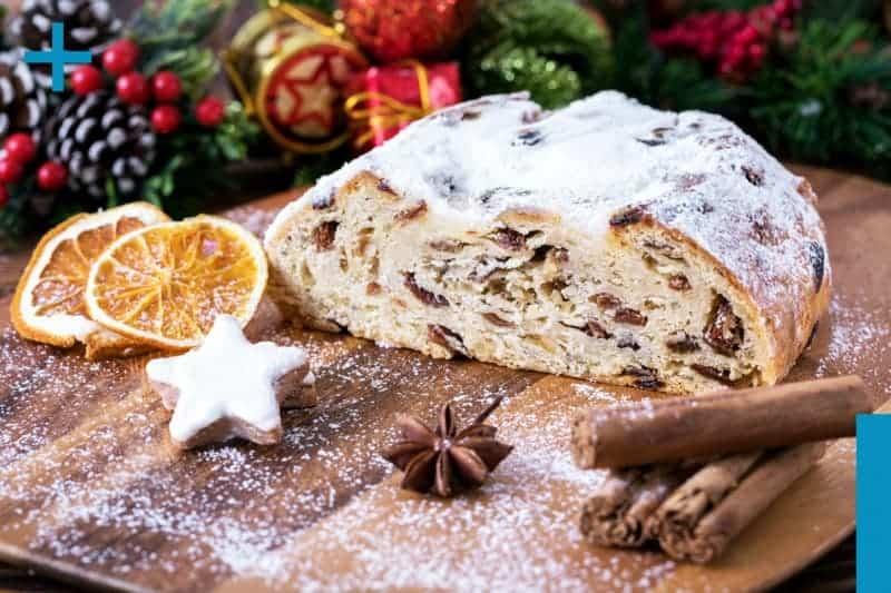 Stollen backen: leichtes Rezept für den Weihnachtsklassiker