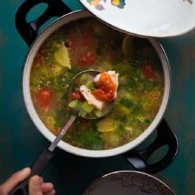 Asiatische-Suppe