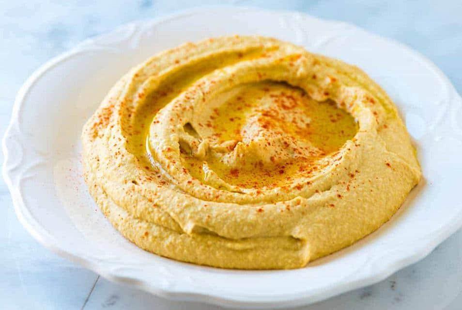 Wohlschmeckender Hummus mit Tahini