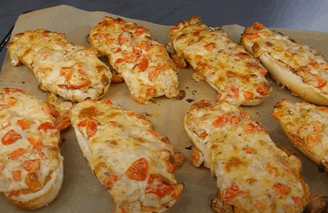Pizza Baguette – schnelle Alternative zu Pizza