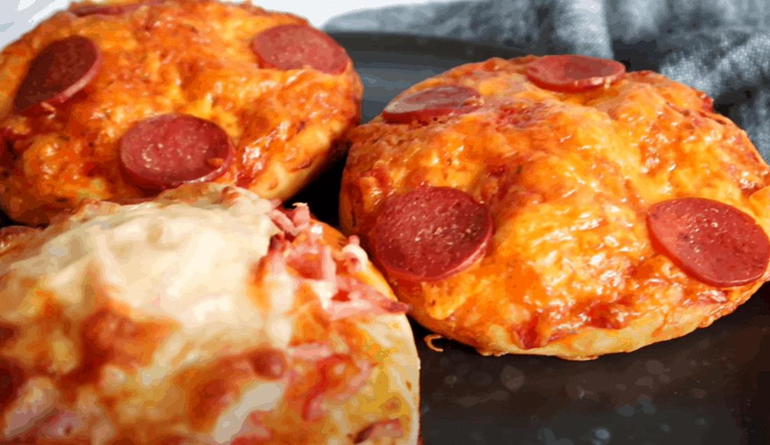 Pizzabrötchen leicht gemacht – 16 Stück