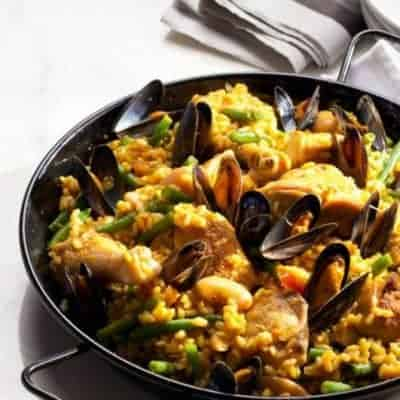 Paella das klassische Rezept