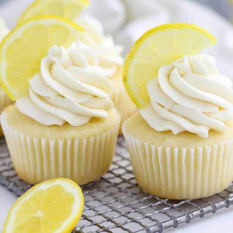 Cupcakes mit Zitrone und Mascarpone-Creme: super saftig & lecker