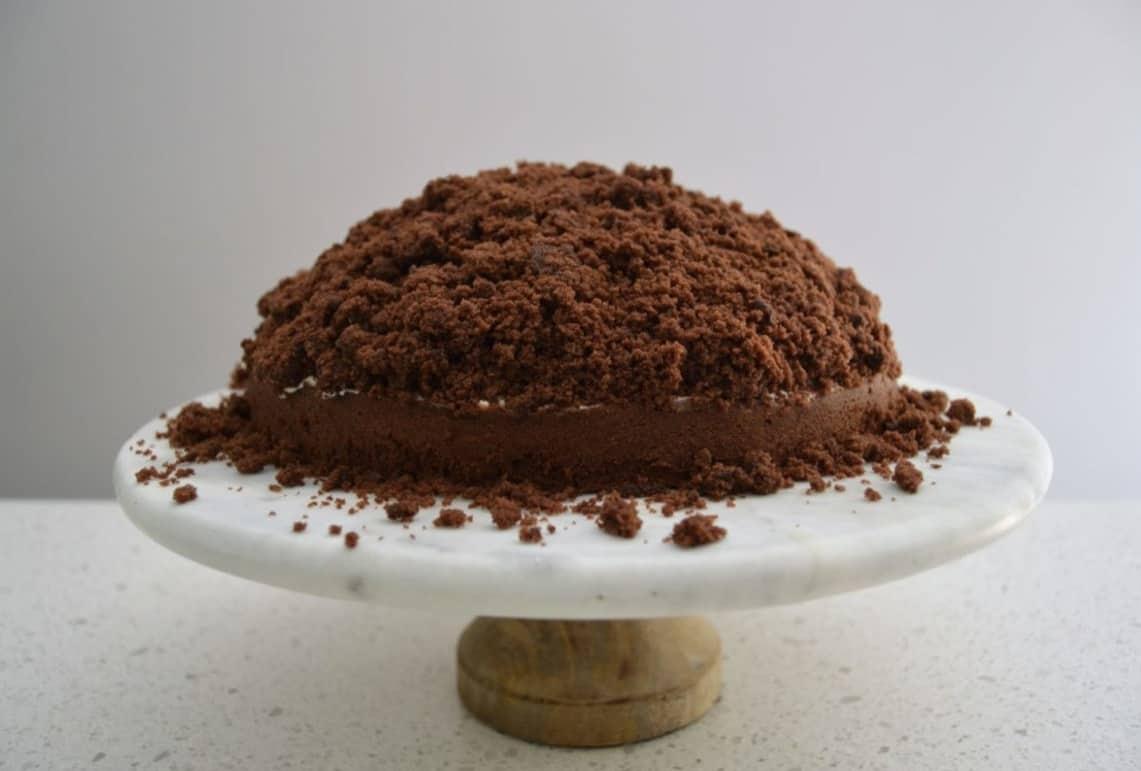 Maulwurfkuchen, leckerer deutscher Kuchen – fertig in nur 40 Minuten!