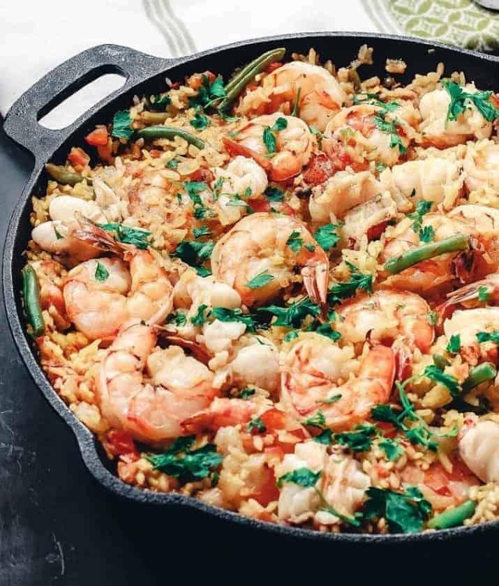 Paella – der Spanische Reis-Leckerbissen. Deliziös!