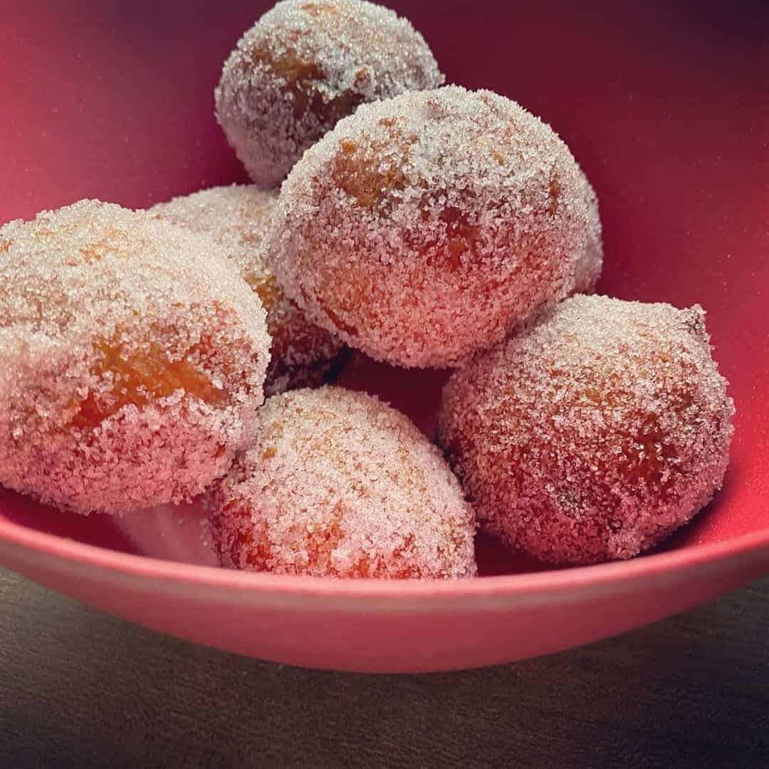 Quarkbällchen-die großartigen deutschen Mini-Donuts