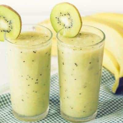 Banenan Kiwi Smoothie Rezept