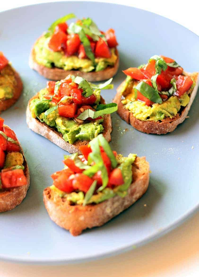 Bruschetta-Rezept mit Avocado, mal anders!