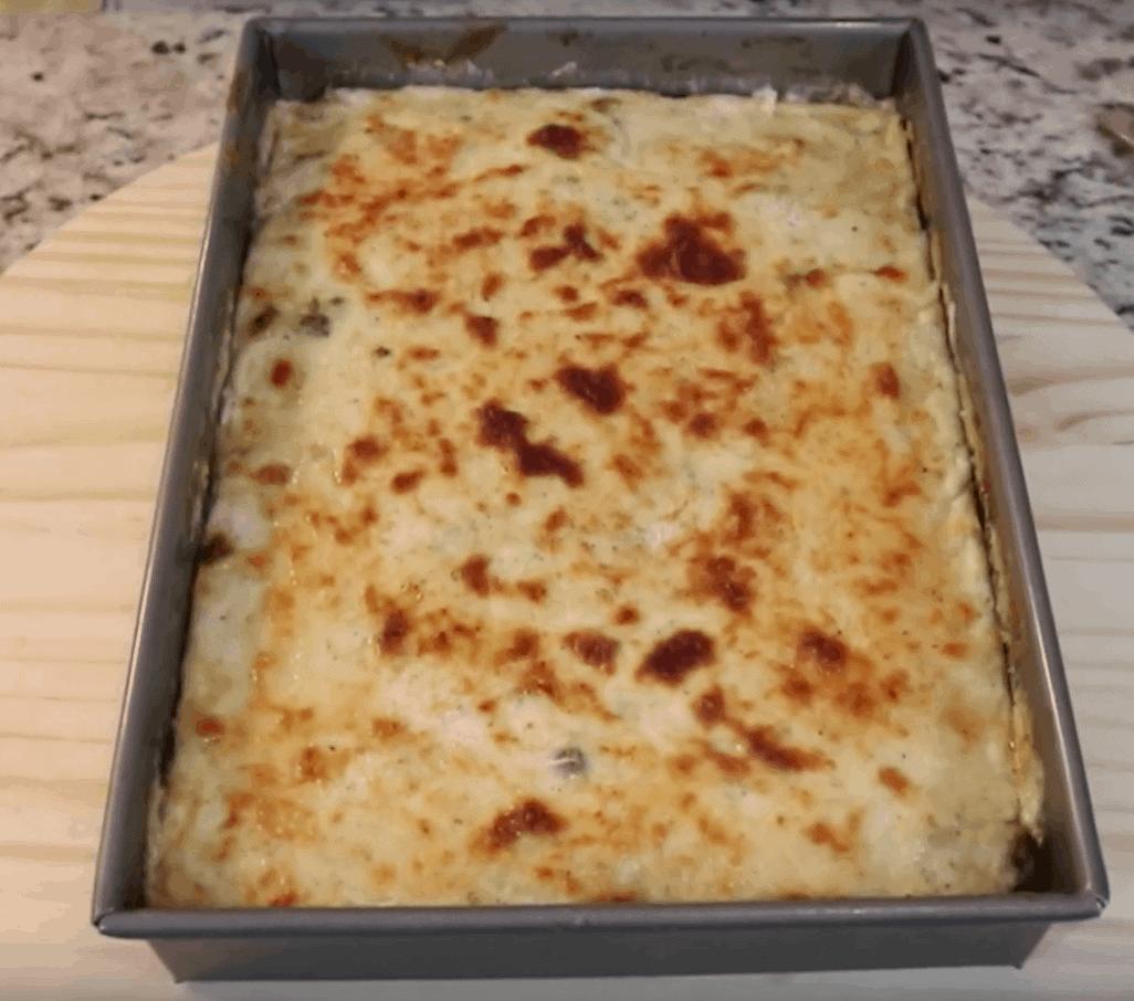 Griechisches Moussaka mit Kartoffeln: genial