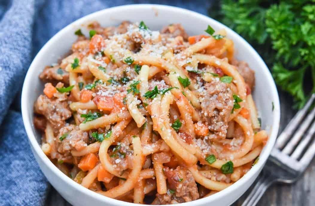 One Pot Pasta: in 30 Min – schnell und lecker
