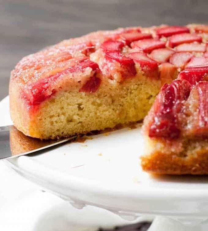 Rhabarberkuchen-tolle Begleitung zum Kaffee oder Tee!