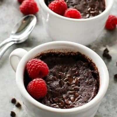 Schokolade-Tassenkuchen