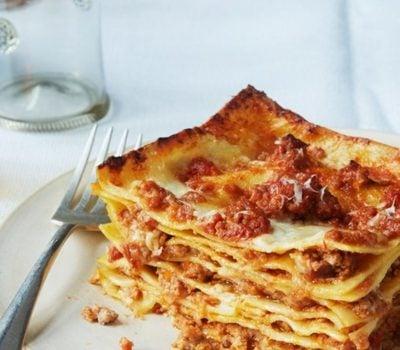 Lasagne bolognese italiensiches Rezept