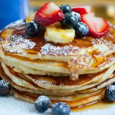 Pancakes Rezept ohne Milch und Eier