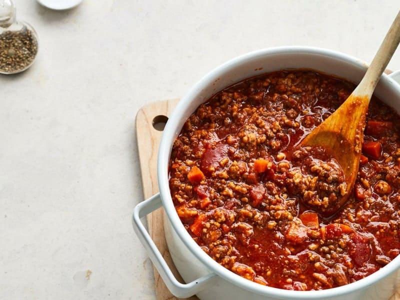 Bolognese Rezept: das italienische Originalrezept für die berühmte Sauce