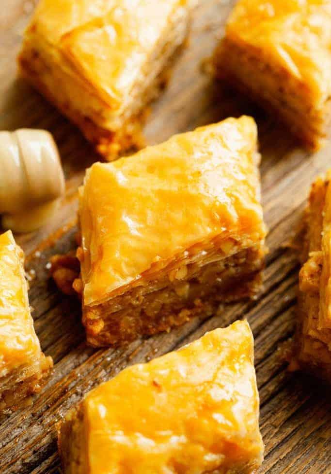 Baklava-die ultimative Süßigkeit des Orients