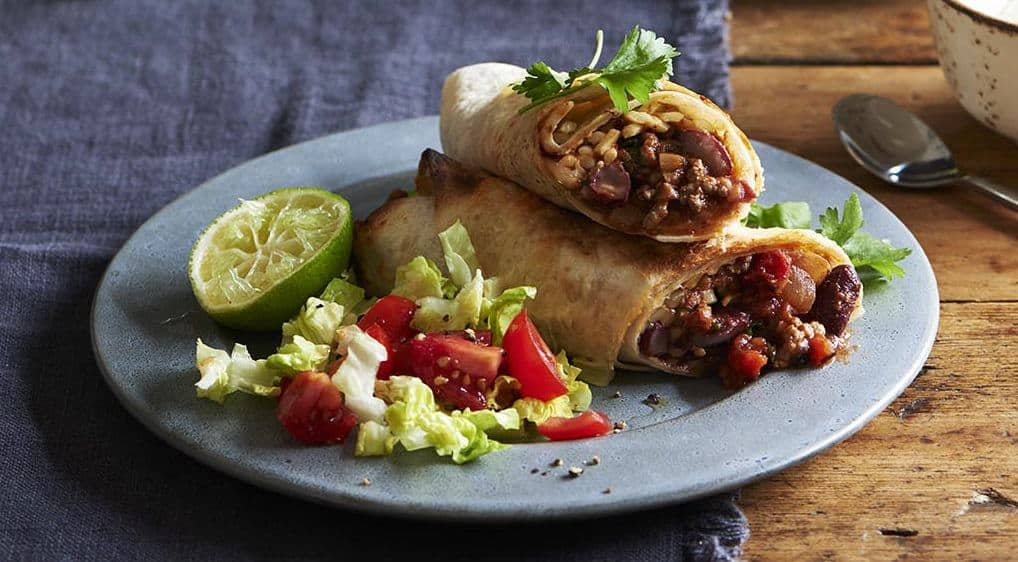 Burrito mit Rinderfüllung – 35 Min. so lecker