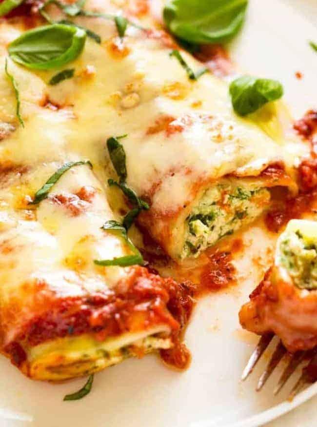 Cannelloni mit Spinat und Ricotta: so lecker