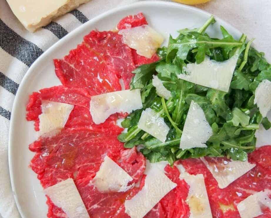 Carpaccio, eine elegante und köstliche Vorspeise