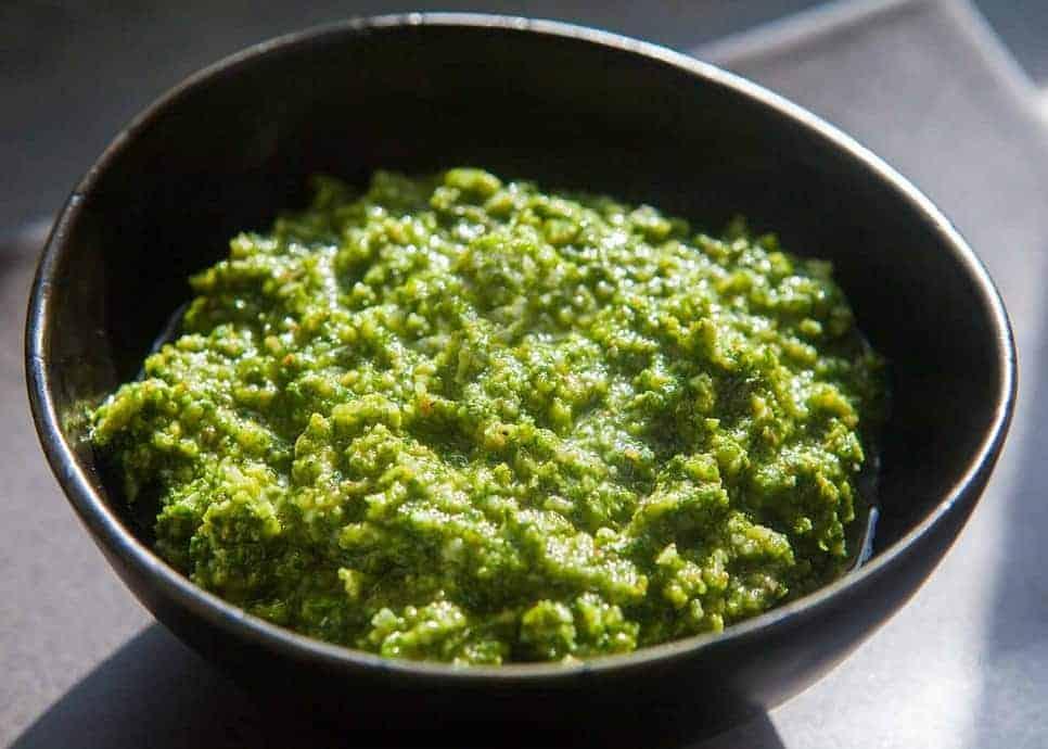 Rucola-Pesto, 10 Min selbstgemacht und genial