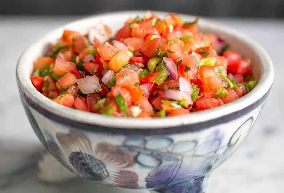Salsa Pico de Gallo – mexikanisch, frisch und lecker