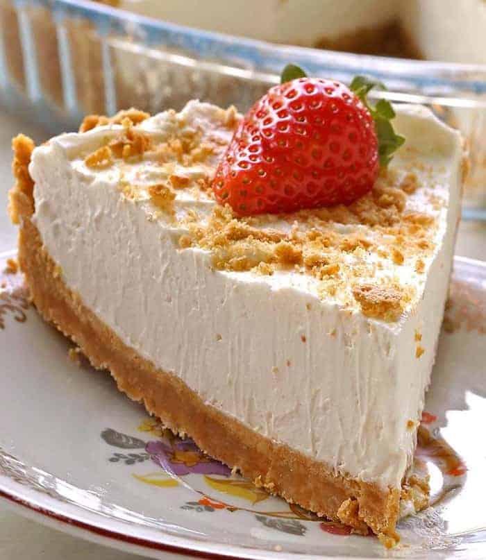 Leichter Marshmallow-Kuchen ohne Backen