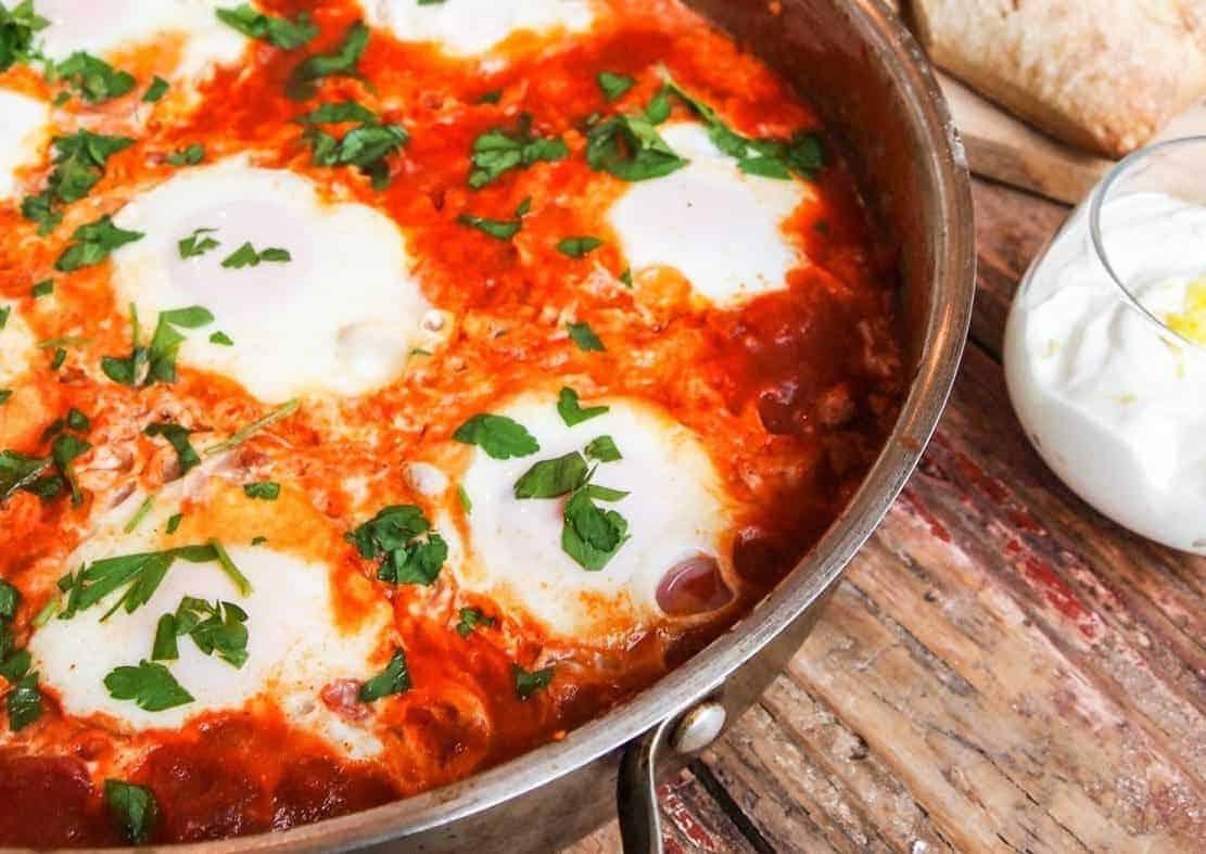 Shakshuka – Pfannengericht mit Eiern – genial