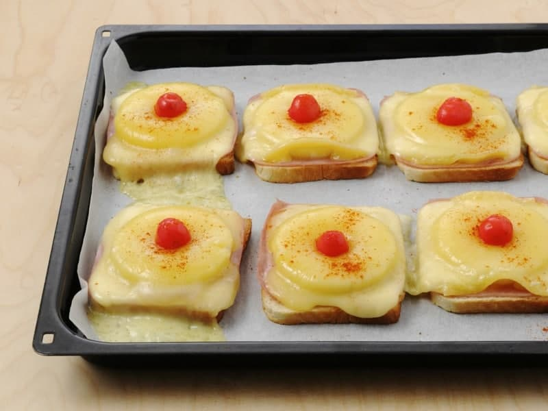 Toast Hawaii: eine ungewöhnliche und super leckere Iden zu Frühstück