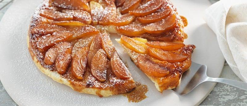 Tarte Tatin: leckeres Rezept für die französische Apfeltarte mit Karamell