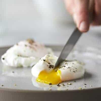 ein perfektes pochiertes Ei selber machen