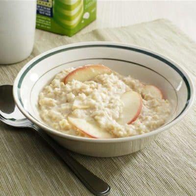Porridge Rezept mit Apfel und Zimt